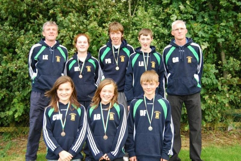 <p>All Ireland Track and Field medal winners and coaches 2008</p>